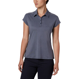 Columbia Peak To Point II Polo Damen nocturnal heather